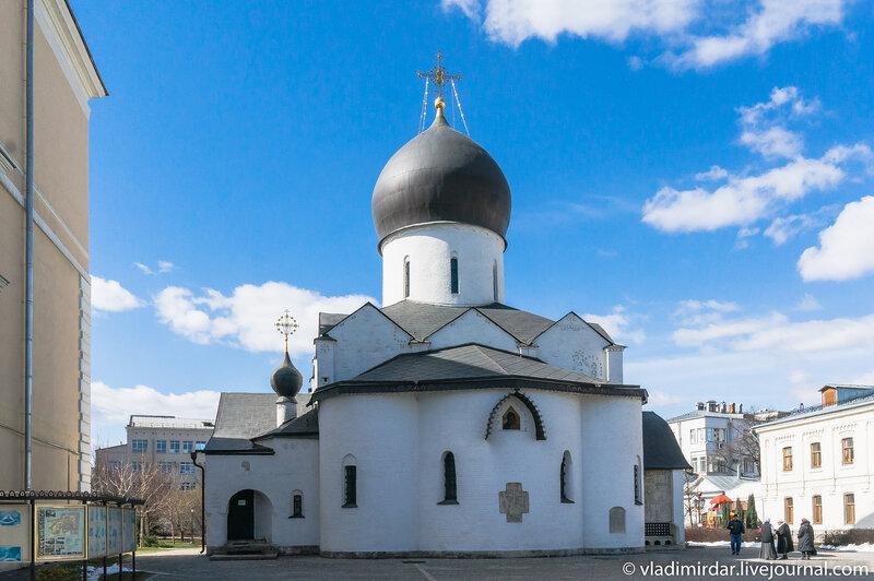 Покровский собор в Марфо-Мариинской обители