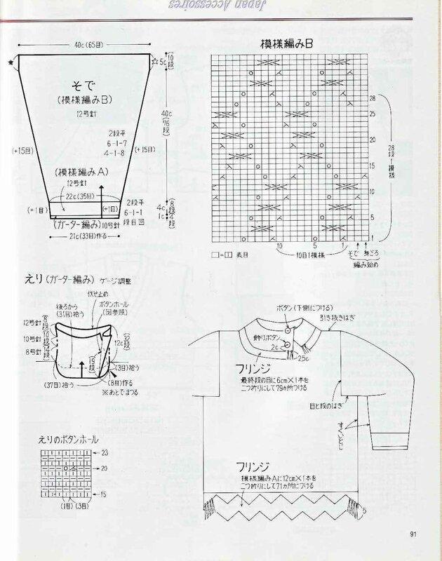 вязание аксессуаров спицами и крючком