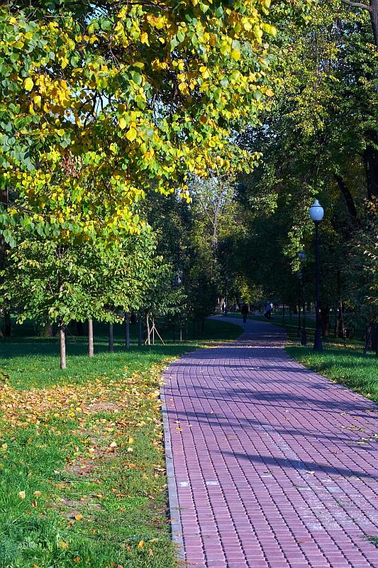 Москва - осень