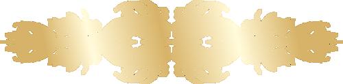Золотые разделители для текста