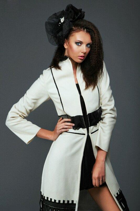 Коллекция женских пальто, осень- зима 2012-2013