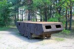 Корпус танка Т-28 из р-на Медного озера