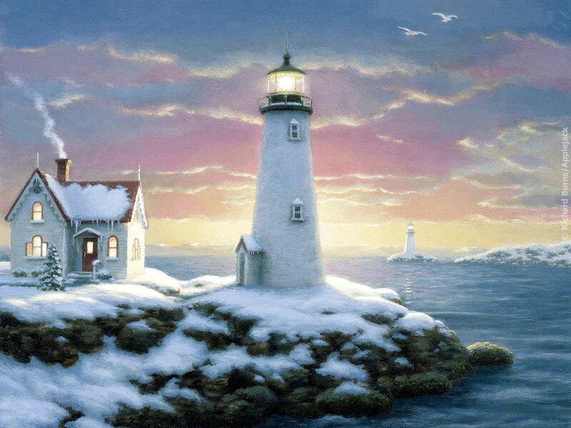 День, прикольные картинки маяк