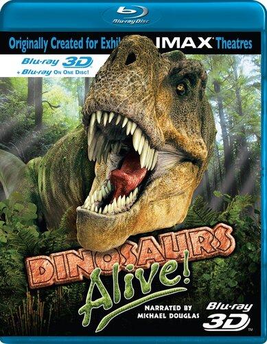 Динозавры живы /Dinosaurs Alive. imax® (документальное видео)(животный мир)
