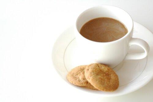 Тепло-Coffee-утренняя необходимость.