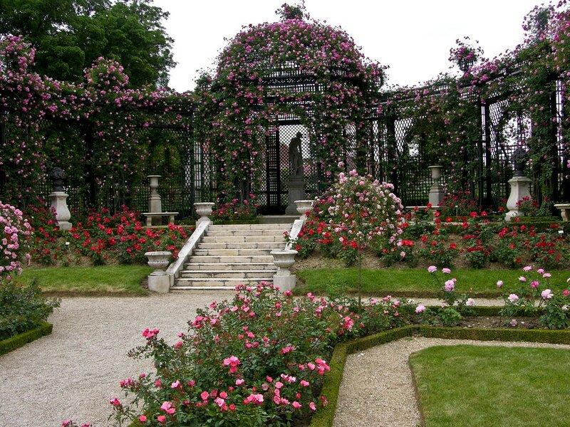 Roserie de l'Hay, Val-de-Marne, France