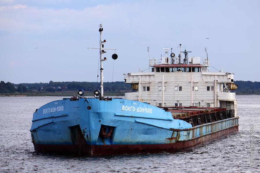 Речное сухогрузное судно «Волго-Дон 5010»