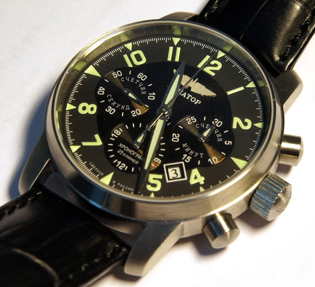 Купить часы полет авиатор в украине часы свисс милитари ханова купить браслет