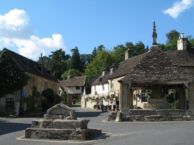 Деревня Касл Ком (Castle Combe)