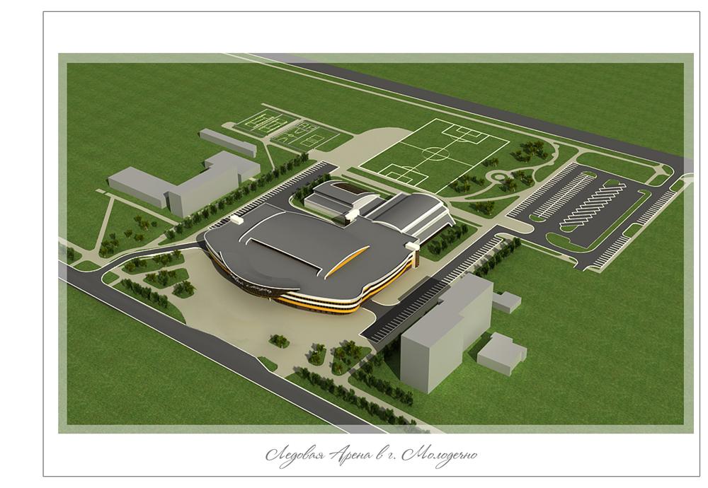 """""""Дажынкі-2011 """".  Ледовая арена.  Рассчитана на две тысячи мест.  Это многофункциональный комплекс, где можно..."""