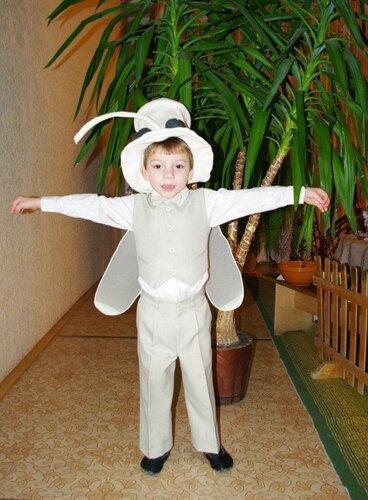 Костюм комара для мальчика своими руками фото