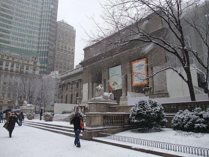 нью йоркская публичная библиотека