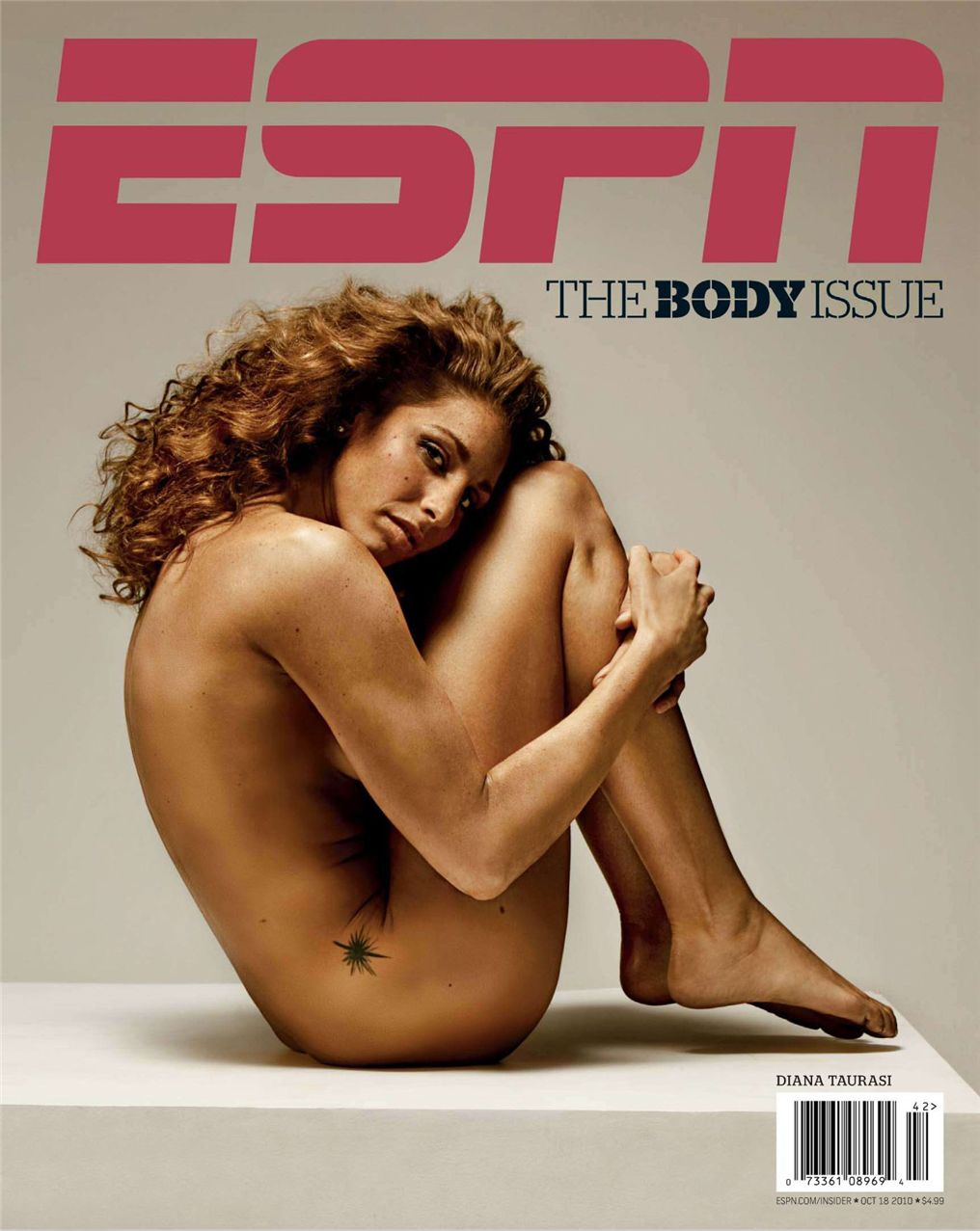 Дайана Таурази / Diana Taurasi - ESPN Magazine Body Issue 18 october 2010
