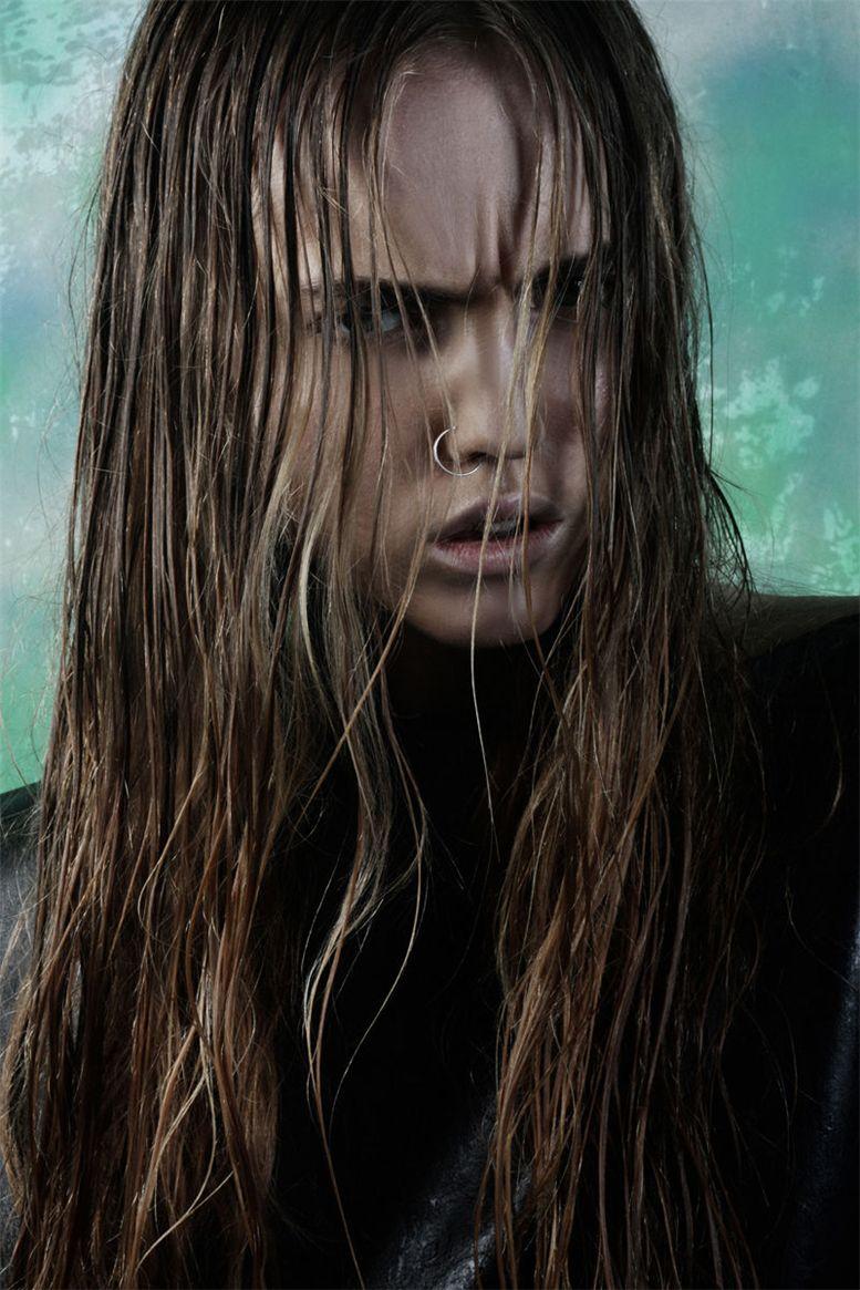 модель Александра Карл / Alexandra Carl, фотограф Damon Baker