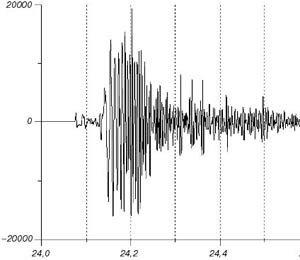 Около Южных Курил зафиксировано землетрясение магнитудой 4,8
