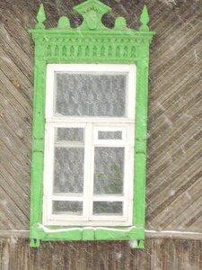 Зеленый наличник