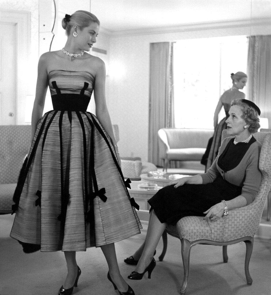 ретро fashion.margaret 1950s,
