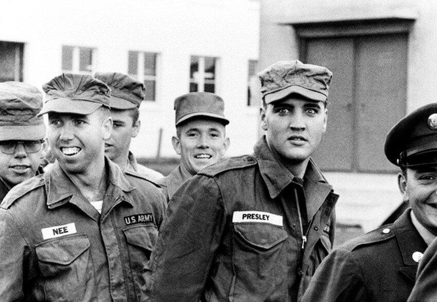 Elvis Presley in Friedberg,1958