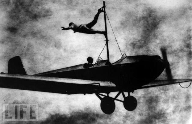 Ричард Шиндлер (Richard Schindler), воздушный акробат