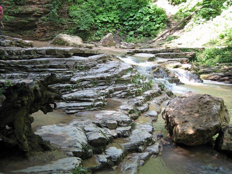 Ступенчатая речка