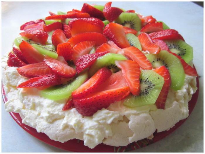 торт безе анна павлова фото рецепт