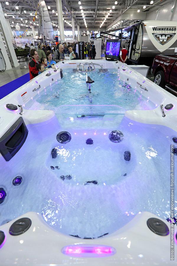 бассейн с течением