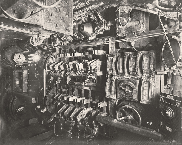 U-Boat 110, Electric Control Room