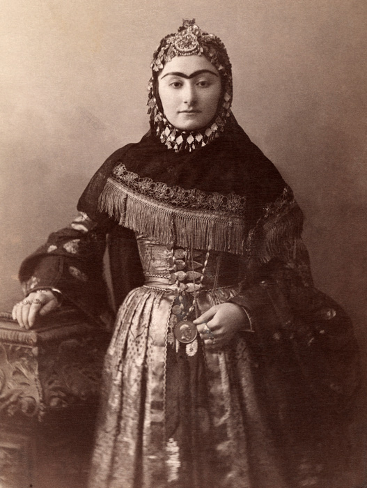 George Kennan - Woman from Daghestan. ca. 1910s