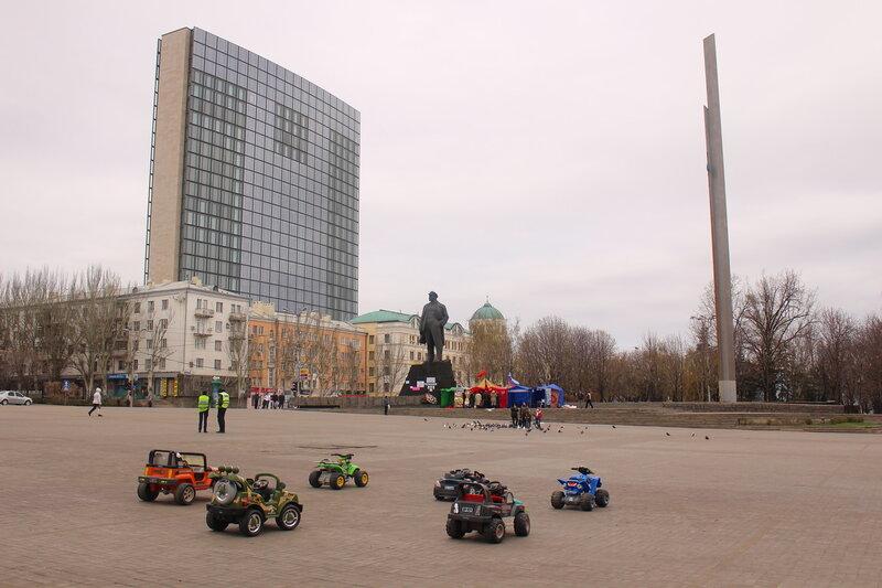 """Донецк во время """"событий"""""""