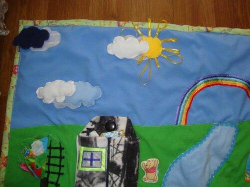 Развивающий коврик своими руками. Хенд-мейд идеи Анны Кожуховской