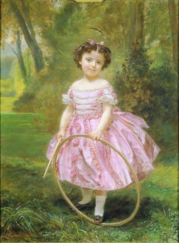 Платье для девочек 19 век