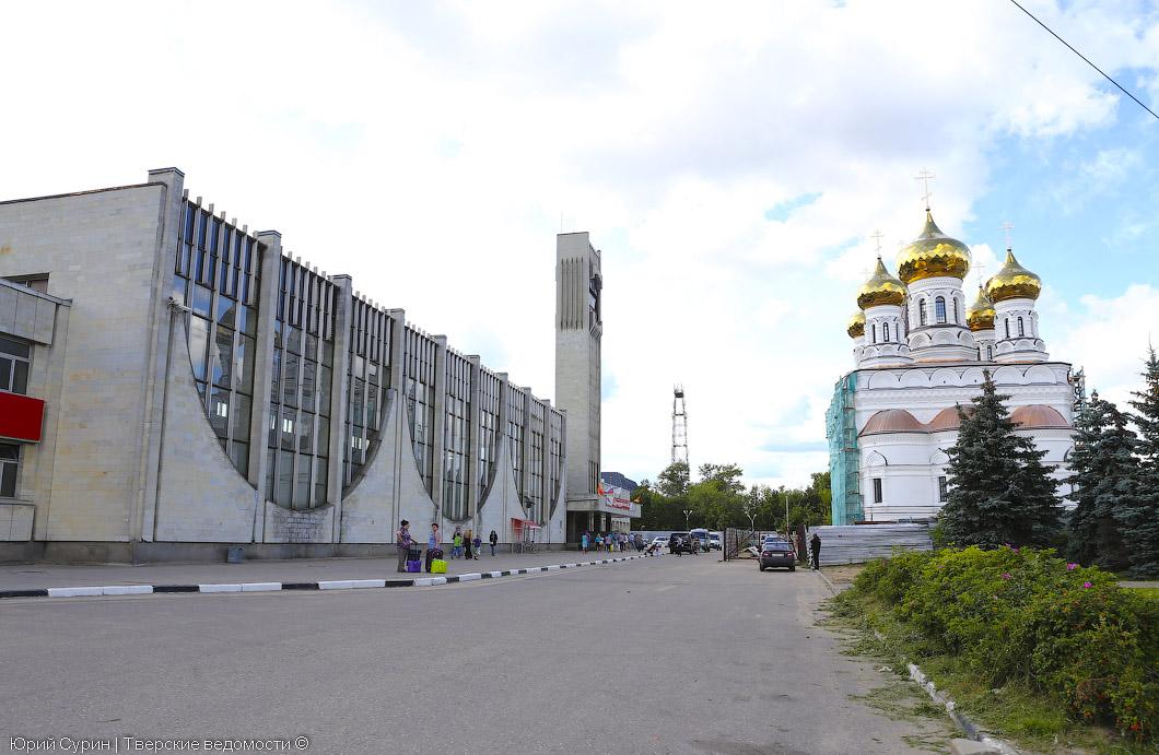 Открытие железнодорожного вокзала Твери, вокзал, Тверь