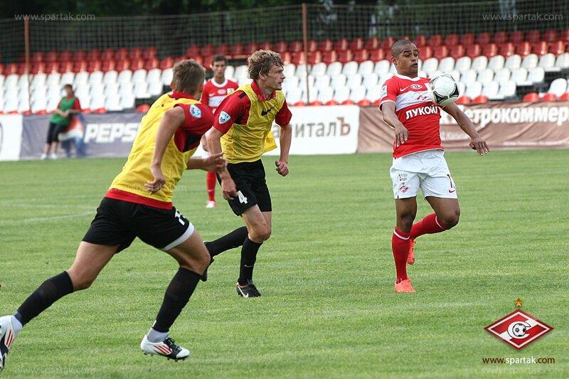 «Спартак» vs «Химки» 6:2 контрольный матч 2012 (Фото)