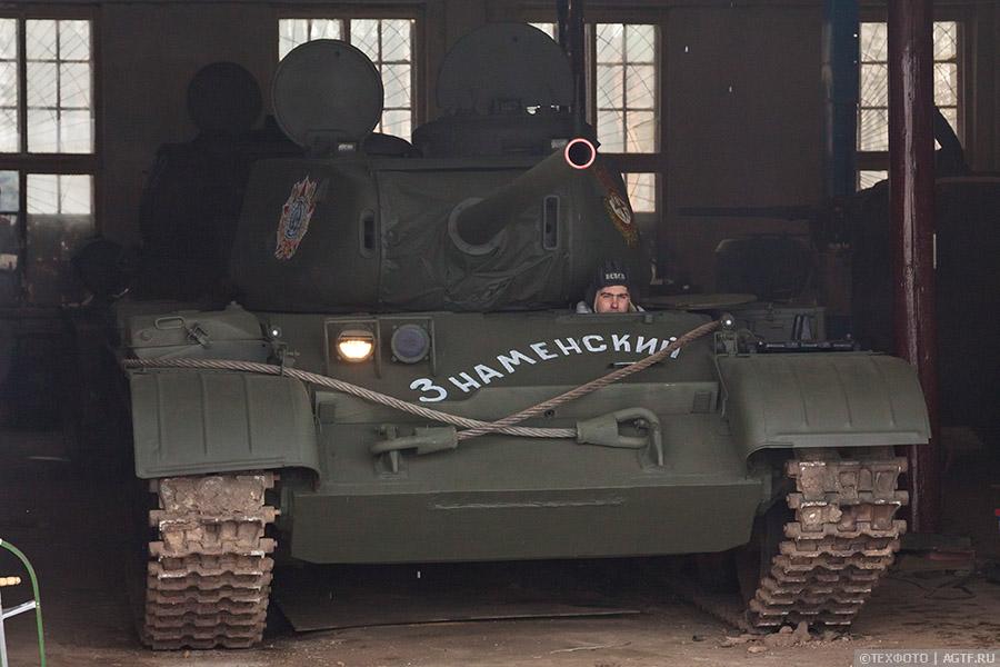 Восстановление танка Т44м. Часть 3