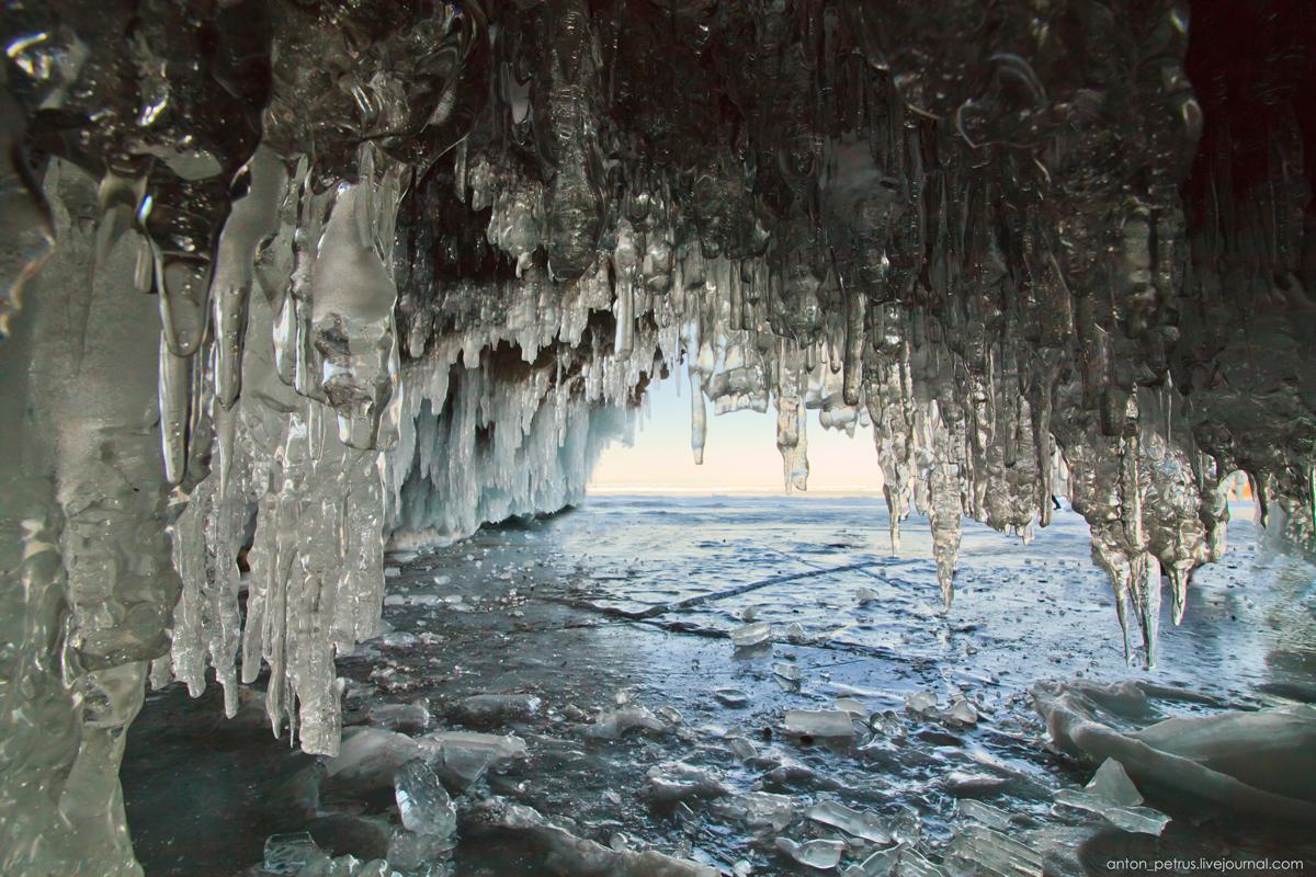 Зимний Байкал. Ольхон