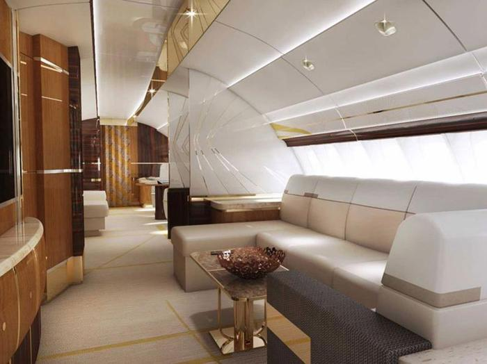 Шикарный интерьер самолетов откомпании Greenpoint Technologies