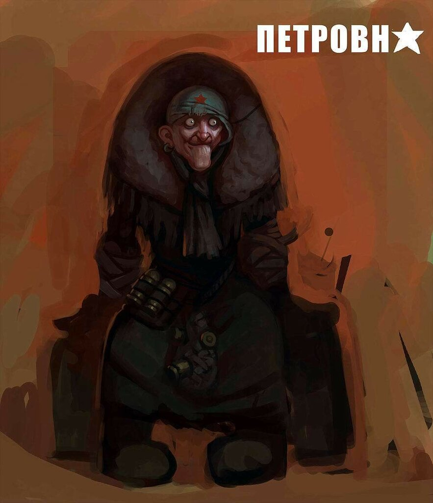 Post-Apocalypsis Russian Babushka by Edevil