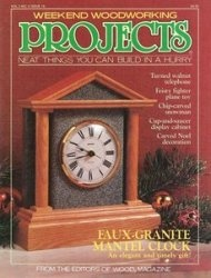 Weekend Woodworking Projects №18 November 1990