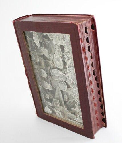 Книжные тоннели от Джулии Фелд
