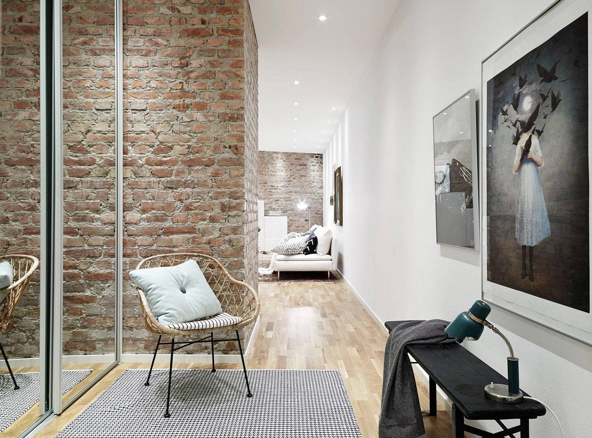 Apartment in Linnegatan, квартира в Гетеборге, скандинавский дизайн фото примеры, что такое скандинавский дизайн, квартира в Швеции фото, элитная квартира