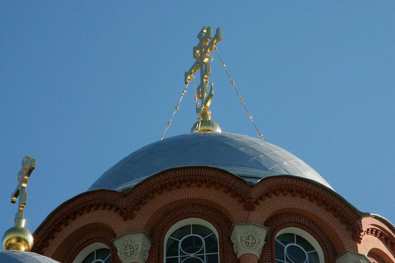 Покровский Хотьков монастырь. Собор Николая Чудотворца. Крест