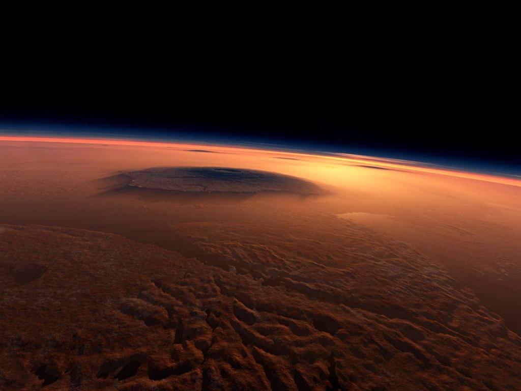 Олимп самая высокая гора в солнечной