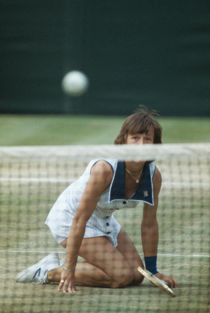 1978: Martina Navratilova of Czechoslovakia