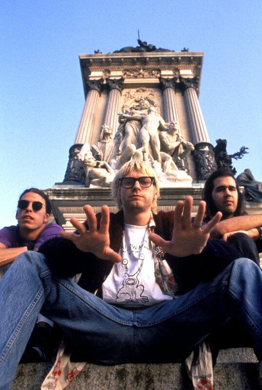 Dave Grohl  Kurt Cobain  Krist Novoselic  Nirvana