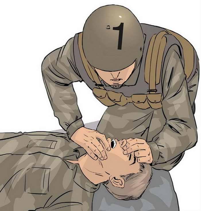 Правила проведения непрямого массажа сердца - 1