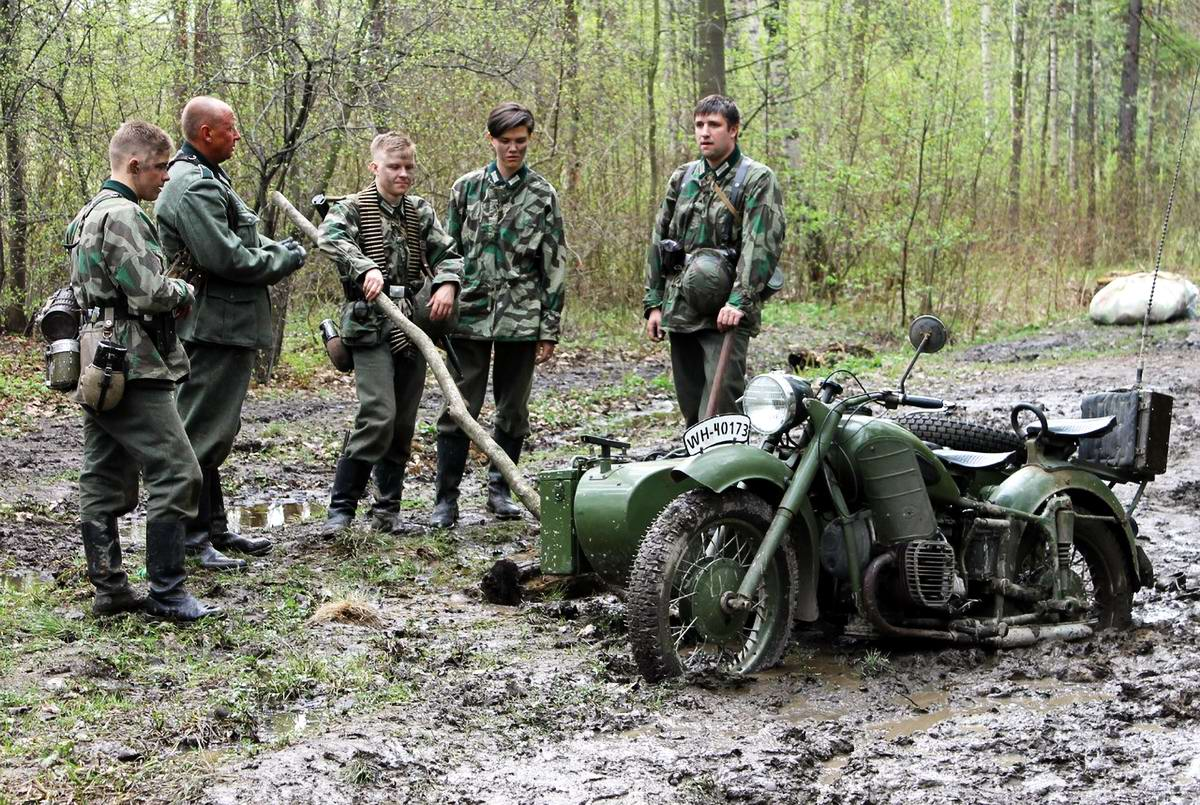 Забавные моменты из жизни военных реконструкторов (102)