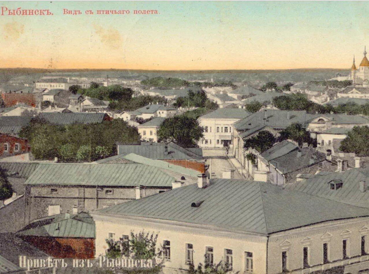 Вид с колокольни Преображенского собора