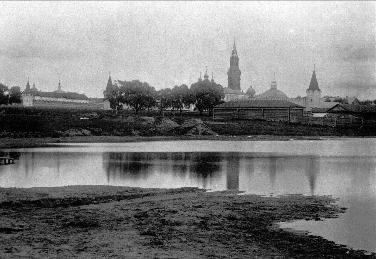 476. Преображенский монастырь через Хапиловский пруд