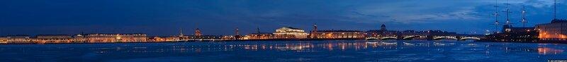 Панорама Санкт - Петербурга