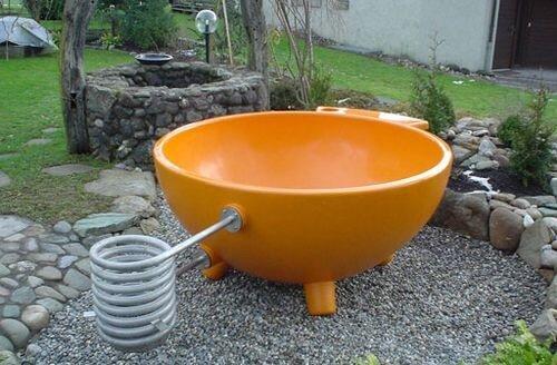 Чан для купания сделать своими руками